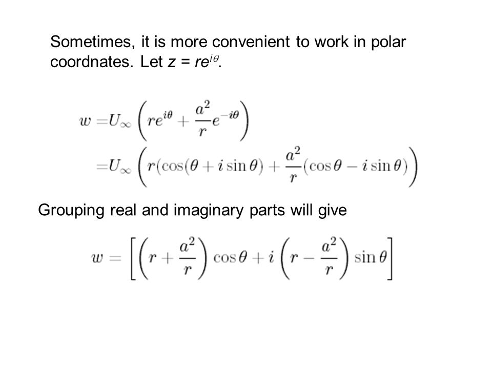 Cartesian and polar coordinate system