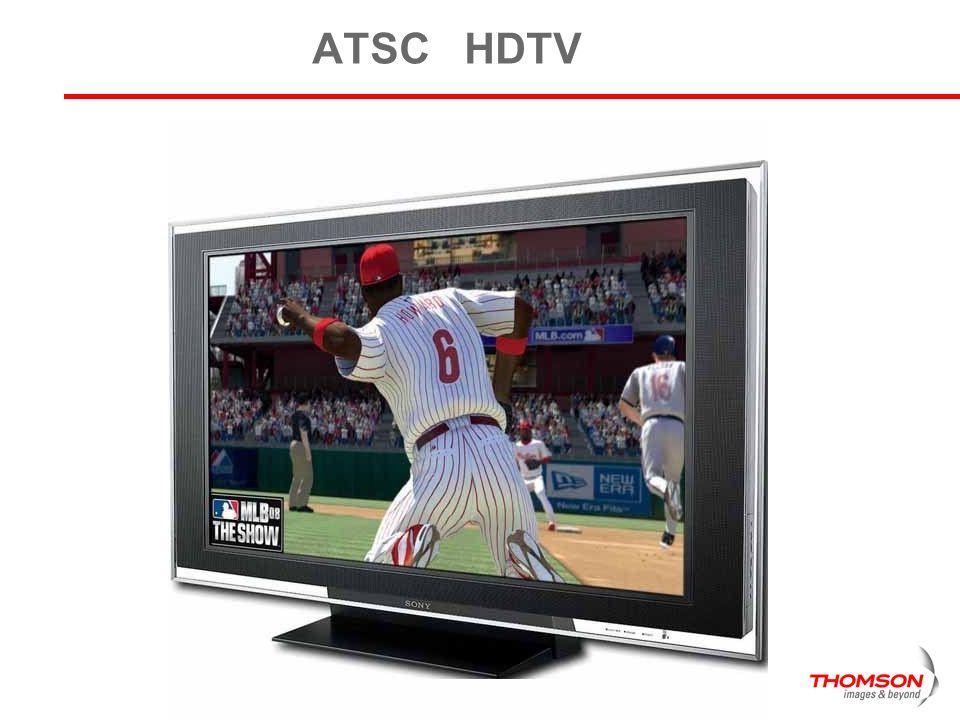 Receiver Markets Cell-phones QVGA Car – TV QVGA-VGA Smart-phones VGA Lap Tops SDTV All ATSC receivers HDTV Multi resolution system needed