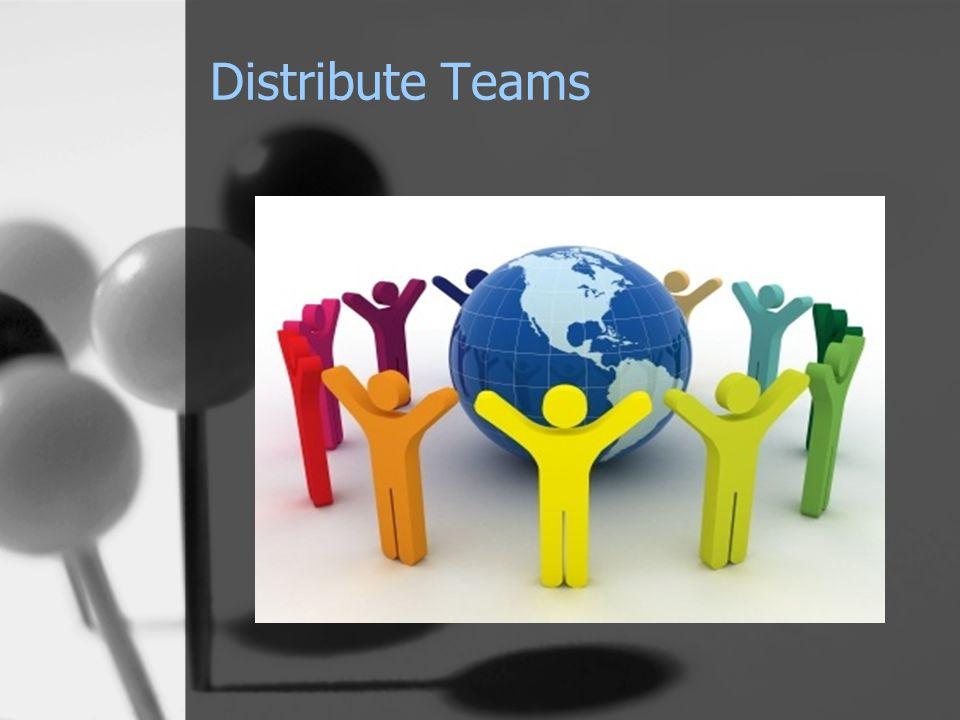 Distribute Teams