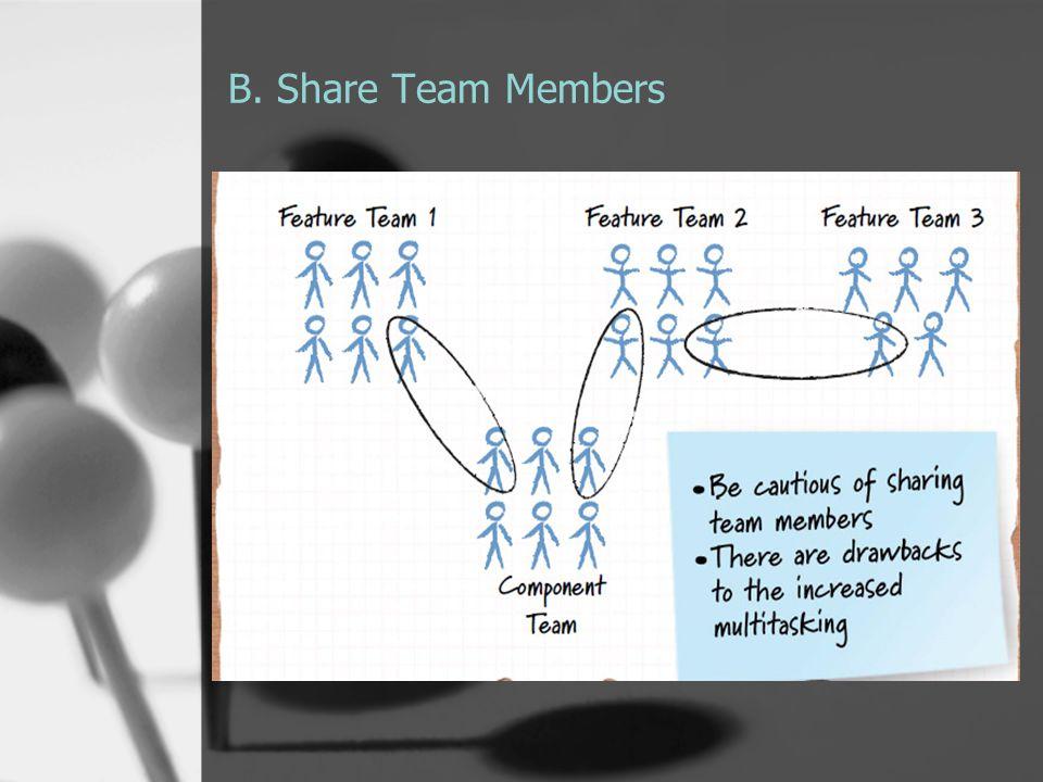B. Share Team Members