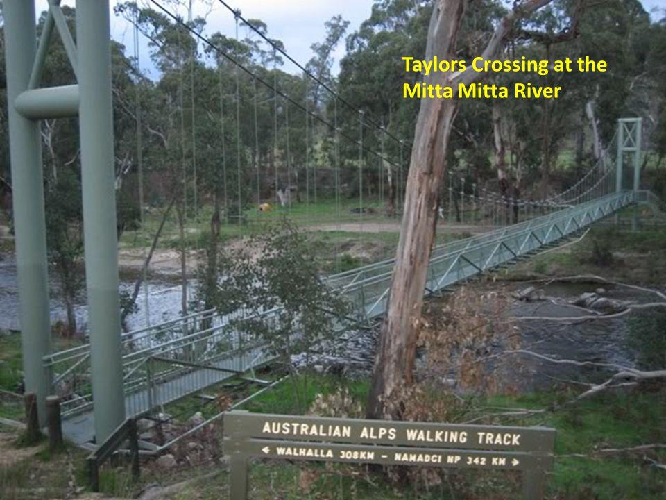 Taylors Crossing at the Mitta Mitta River