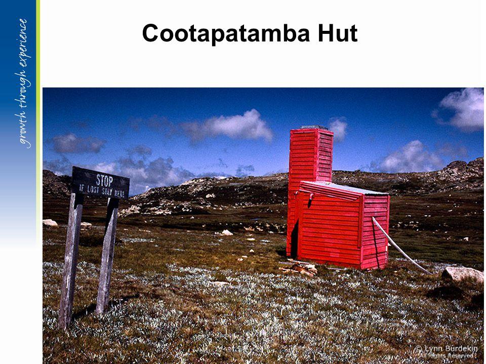 Cootapatamba Hut