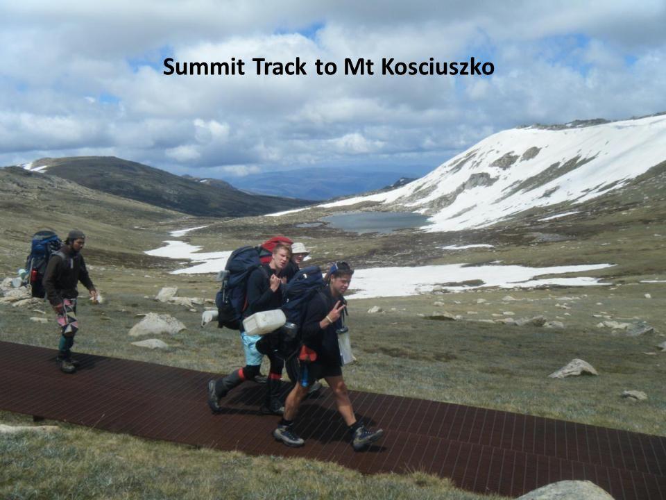 Summit Track to Mt Kosciuszko