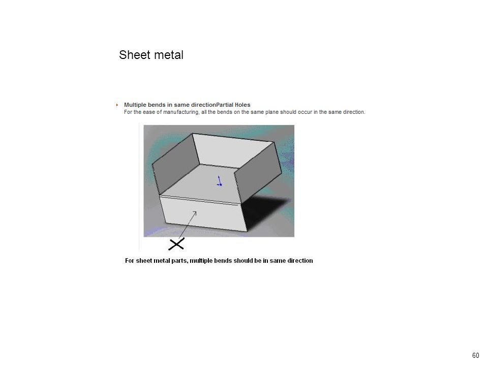 60 Sheet metal