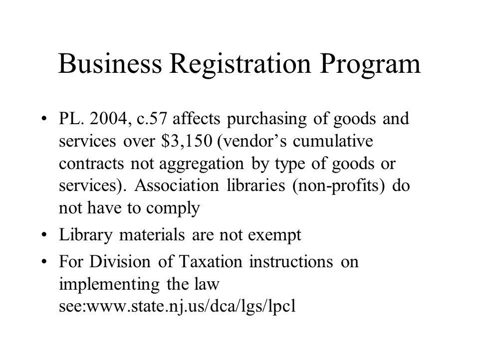 Business Registration Program PL.
