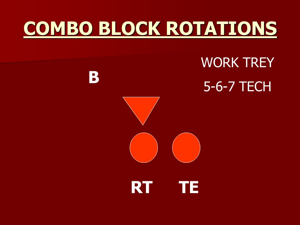 COMBO BLOCK ROTATIONS RTTE B WORK TREY 5-6-7 TECH