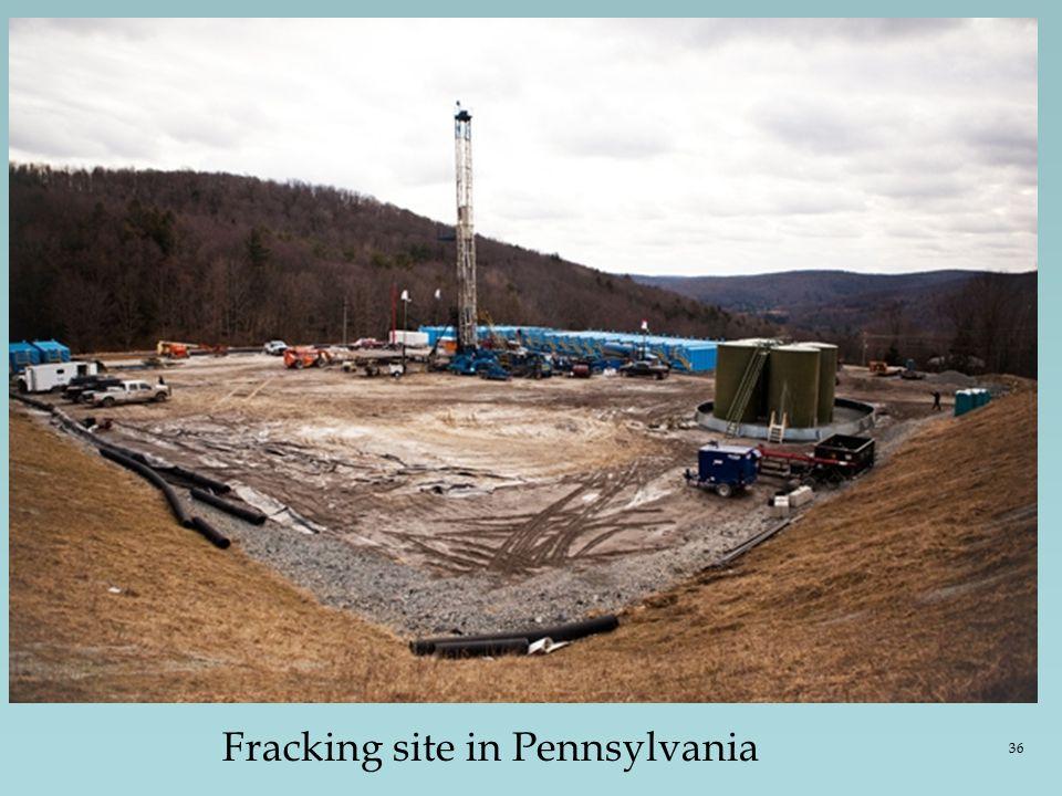 Fracking site in Pennsylvania 36