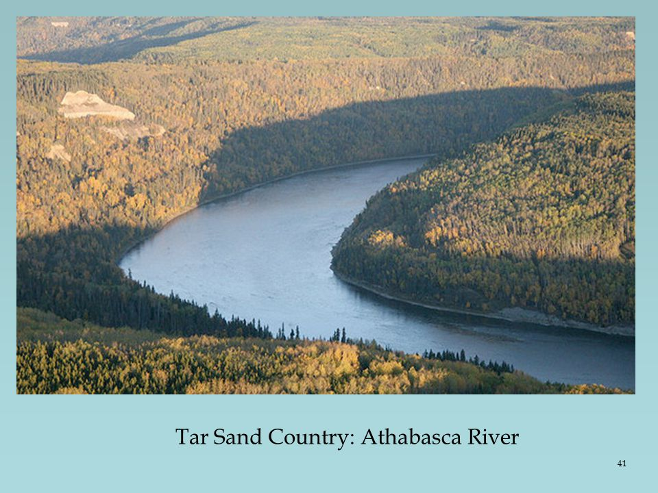 Tar Sand Country: Athabasca River 41