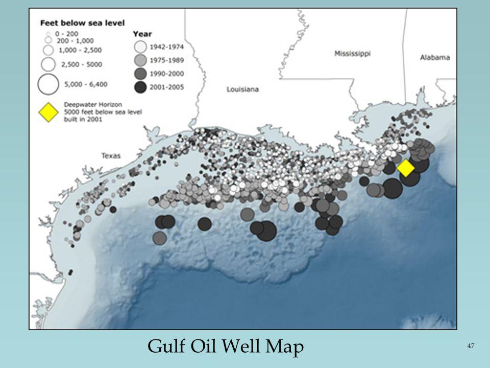 Gulf Oil Well Map 47