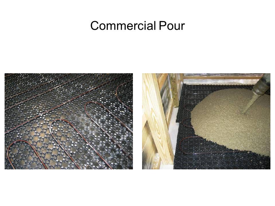 Commercial Pour