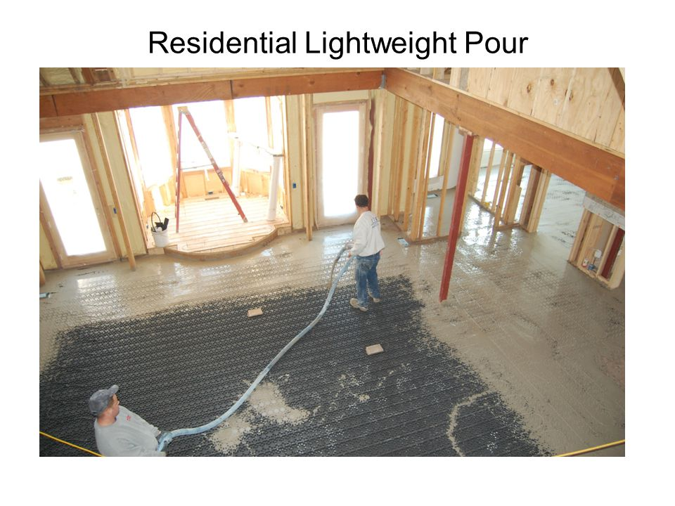 Residential Lightweight Pour