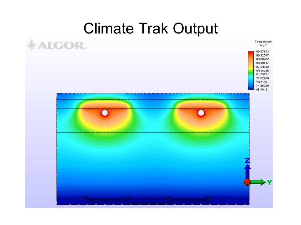 Climate Trak Output