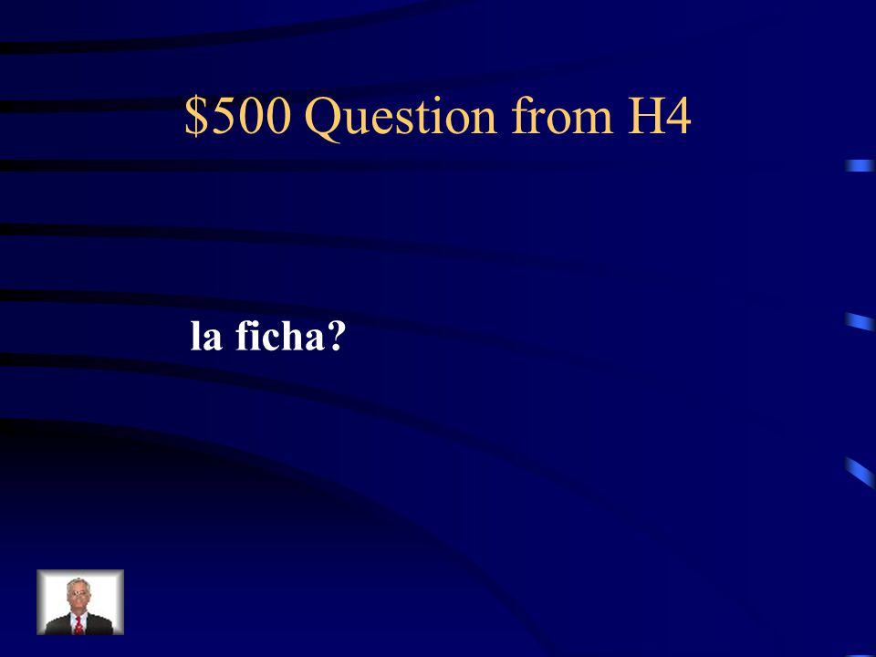 $400 Answer from H4 reservation