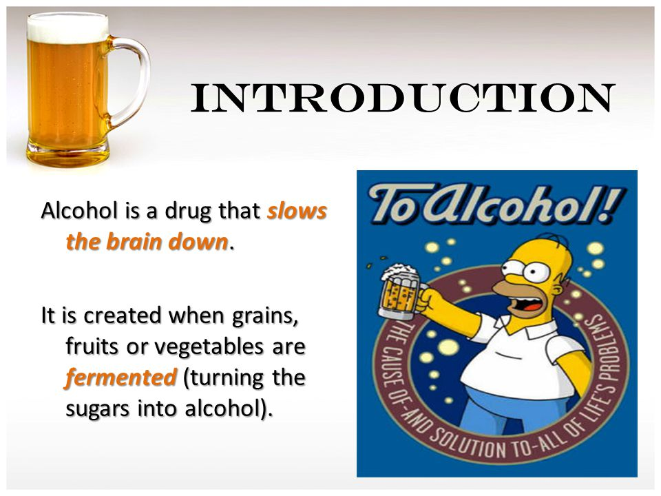 THE PATH OF ALCOHOL 4.Once alcohol is in the bloodstream, the heart pumps it to all parts of the body.