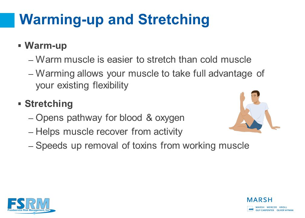 37 Why Does Stretching Help.  It allows your body to breathe.