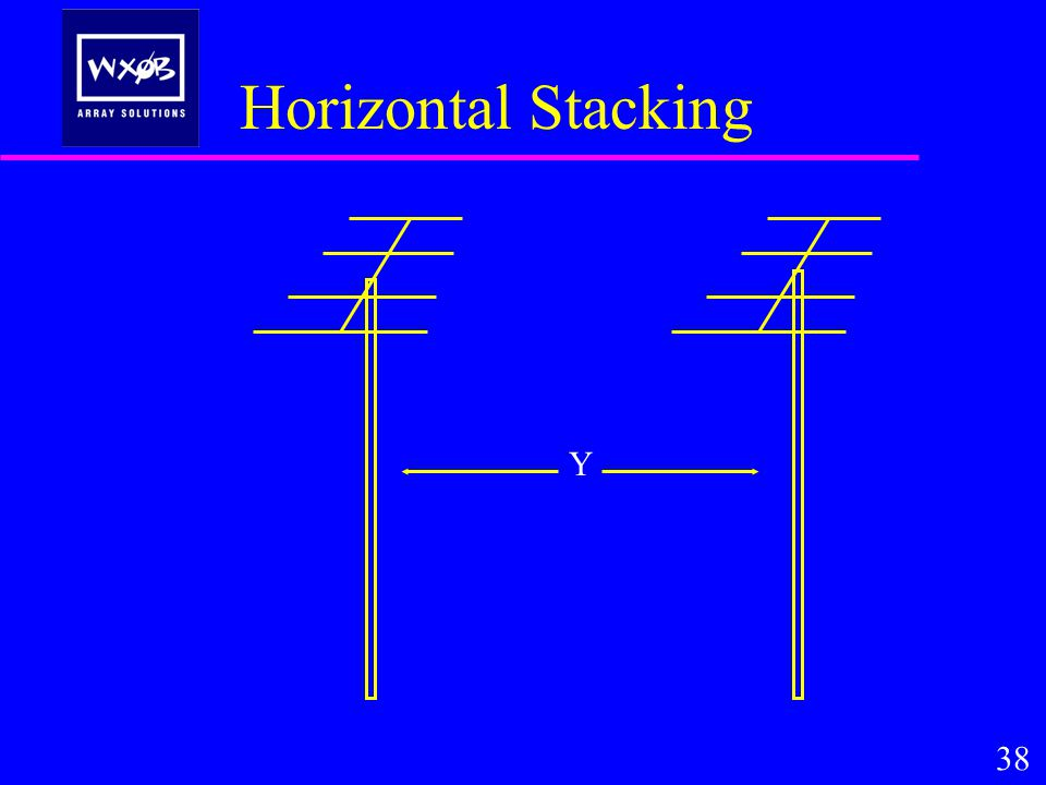 Horizontal Stacking 38 Y
