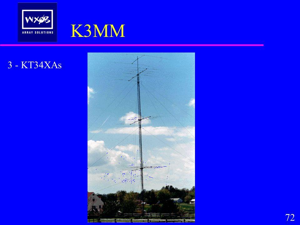 K3MM 3 - KT34XAs 72