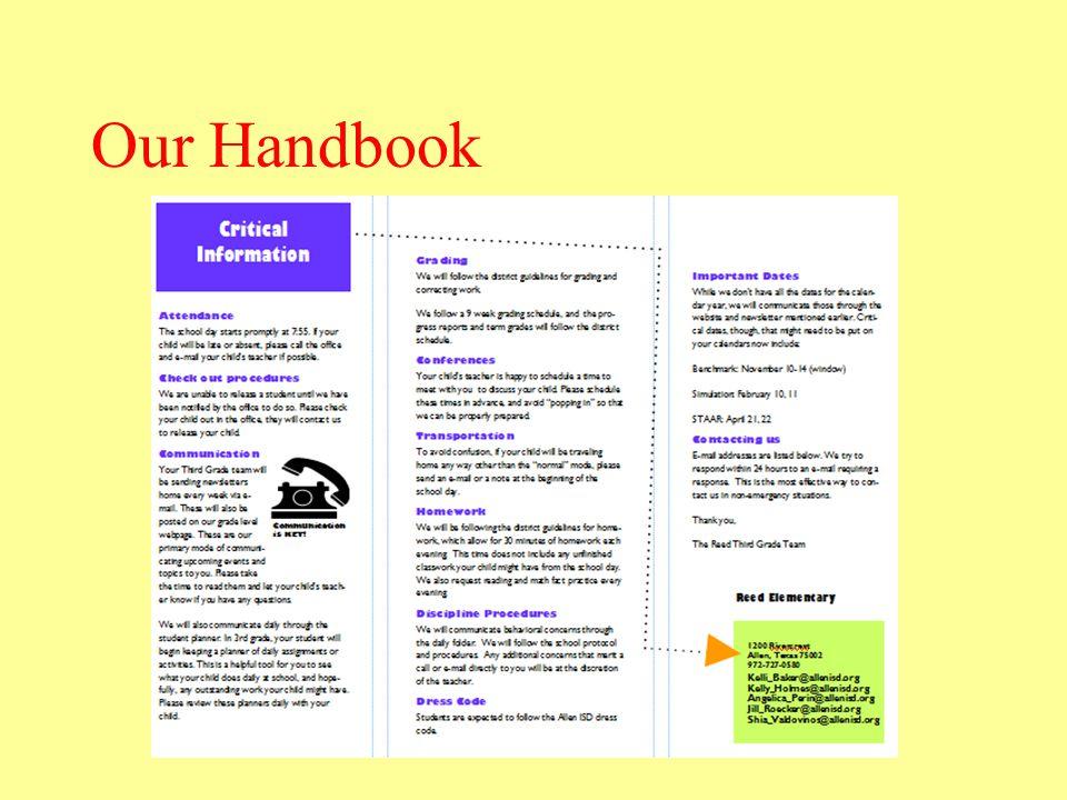 Our Handbook