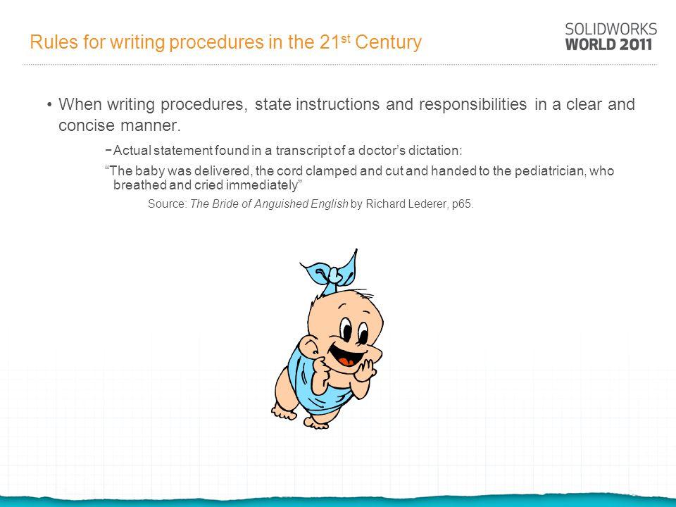 Drafting standards