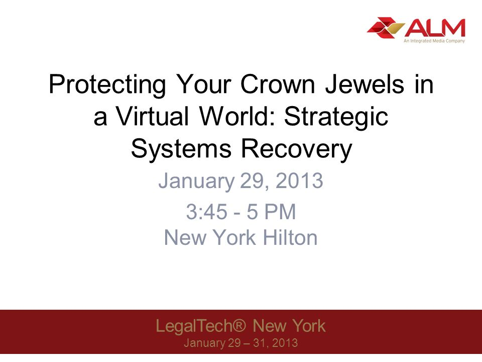 LegalTech® New York 2013 52 What does Rodey do.