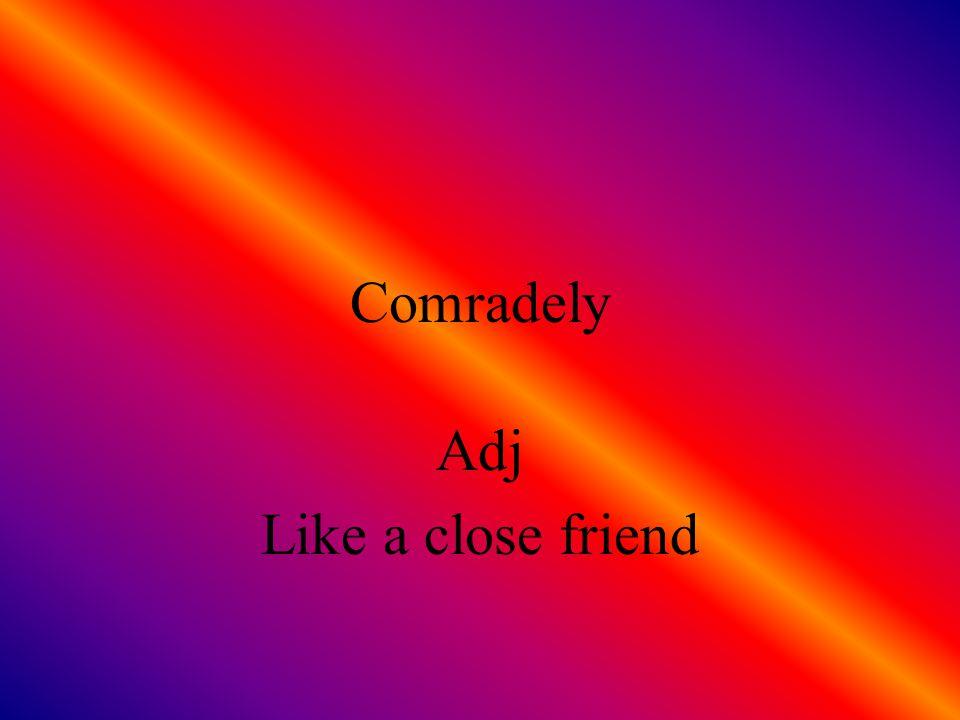 Comparative Adj Relative