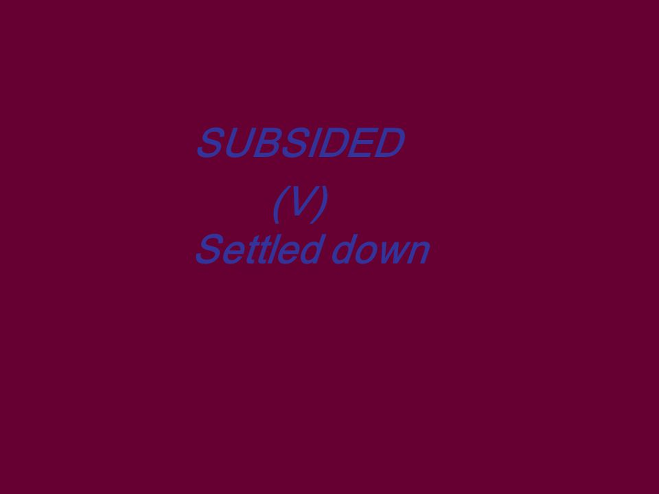 DISCOURAGED (Adj) Feeling let down