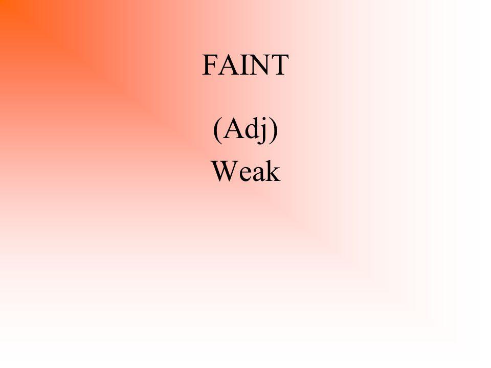 STACCATO (Adj) Faltering, Shaking