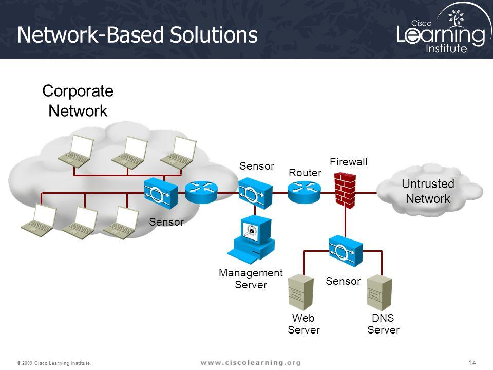 14 © 2009 Cisco Learning Institute.