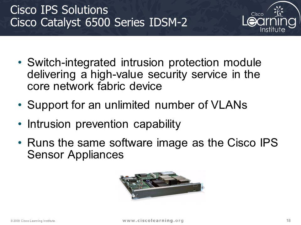 18 © 2009 Cisco Learning Institute.