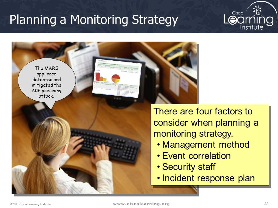 38 © 2009 Cisco Learning Institute.