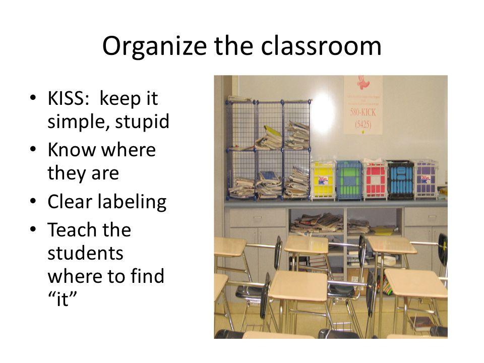 Arranging Desks Where do you start.