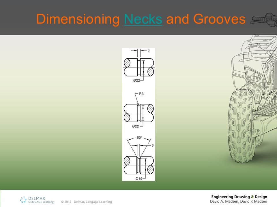 Dimensioning Necks and GroovesNecks