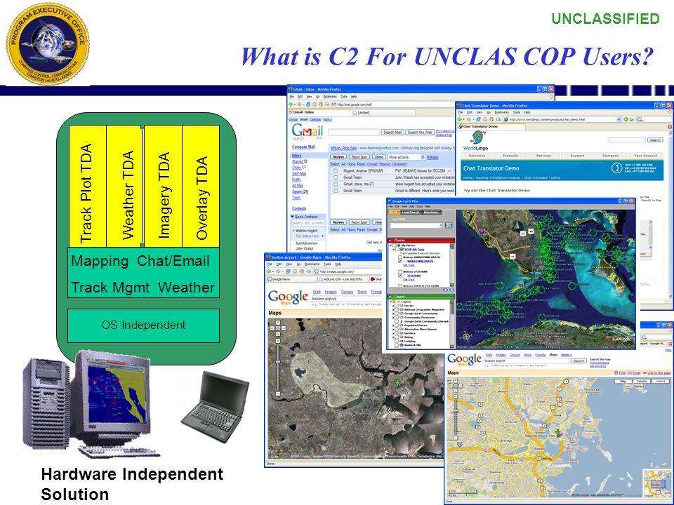 UNCLASSIFIED 71 UNCLAS COP Guidance Spiral development approach –Initial Spiral 0 (deliver 30 NOV)  OPNAV N6F guidance provided June 2006  PEO C4I U