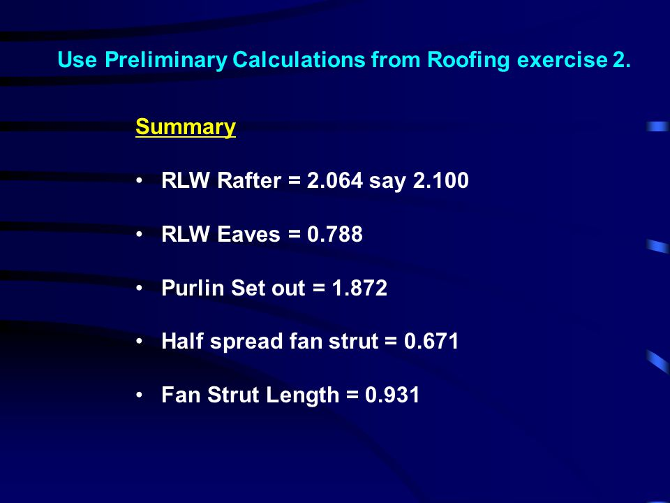 8.Find information for Eaves Beams (Rules & Supp.