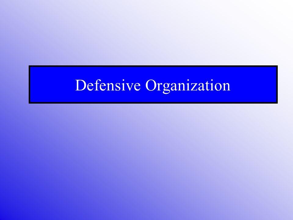 Defensive Organization