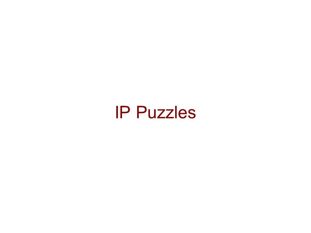 IP Puzzles