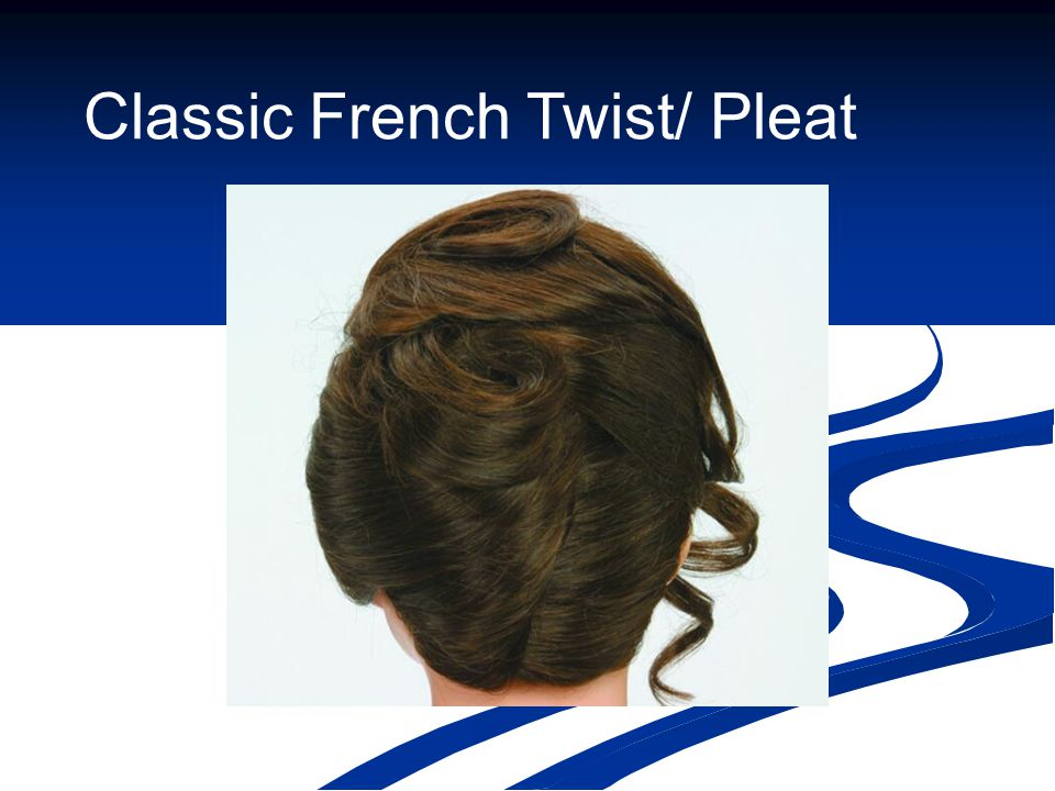 Classic French Twist/ Pleat
