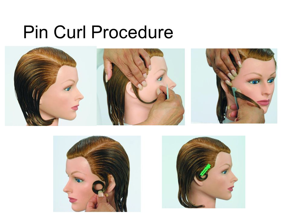 Pin Curl Procedure