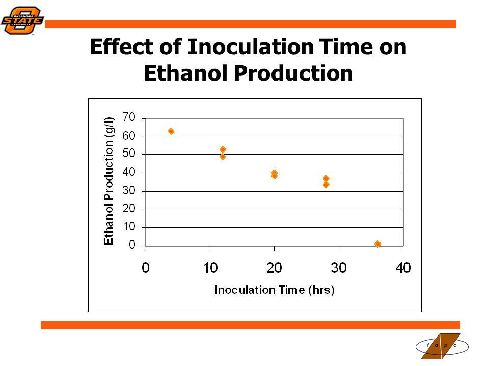 Effect of Inoculation Time on Ethanol Production