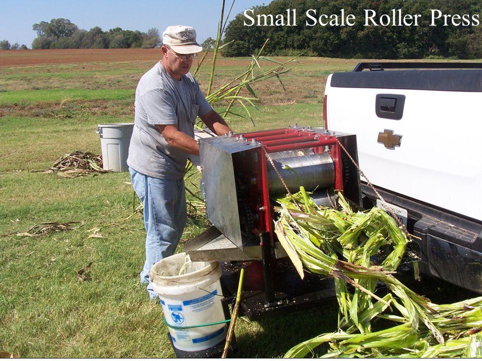 Small Scale Roller Press