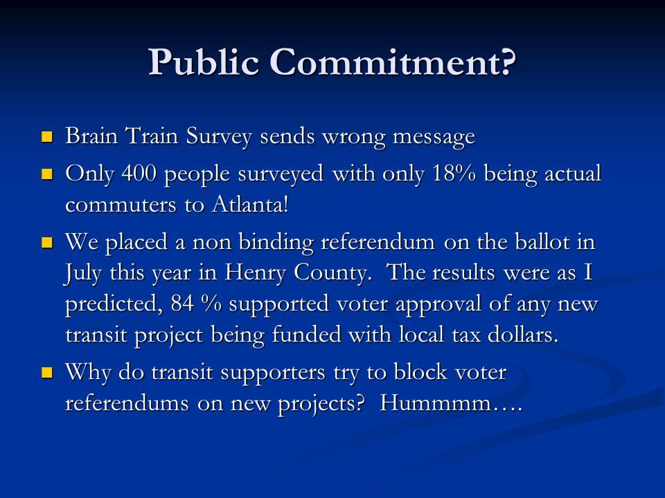 Public Commitment.