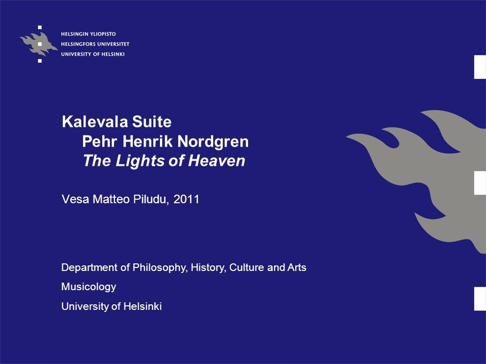 The Lighs of Heaven Per Nordgren life's work Ingrian melodies