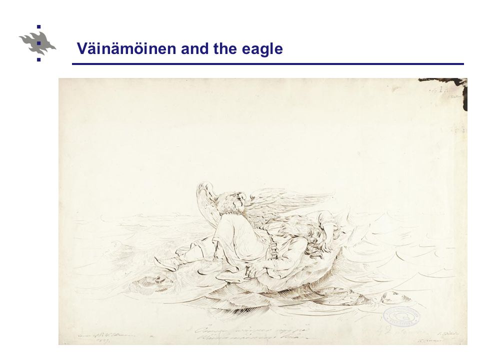 Väinämöinen and the eagle