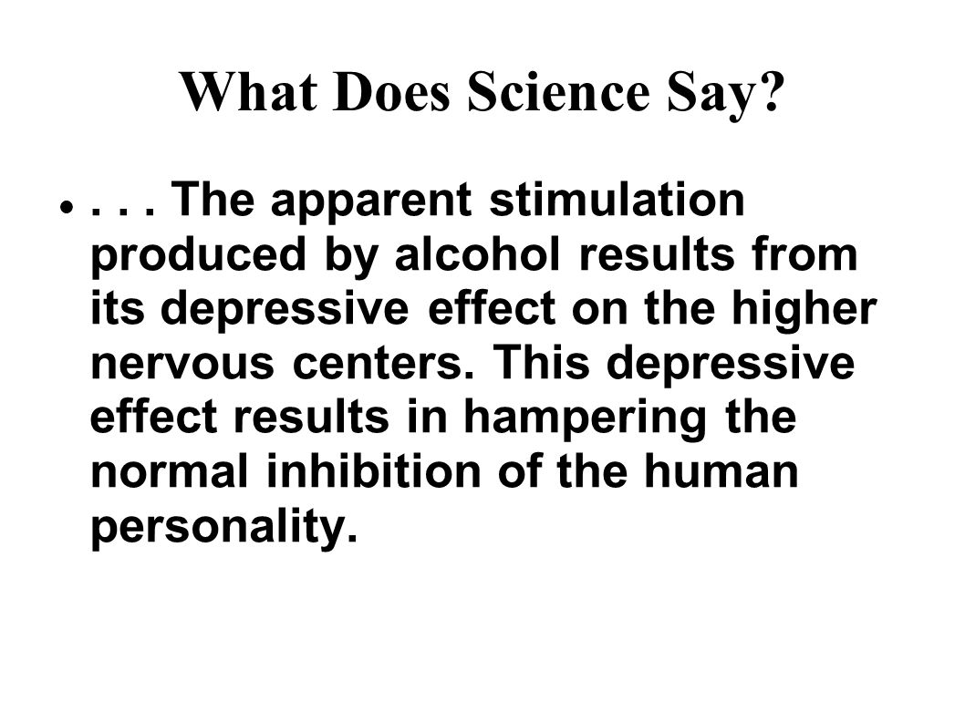 What Does Science Say ...