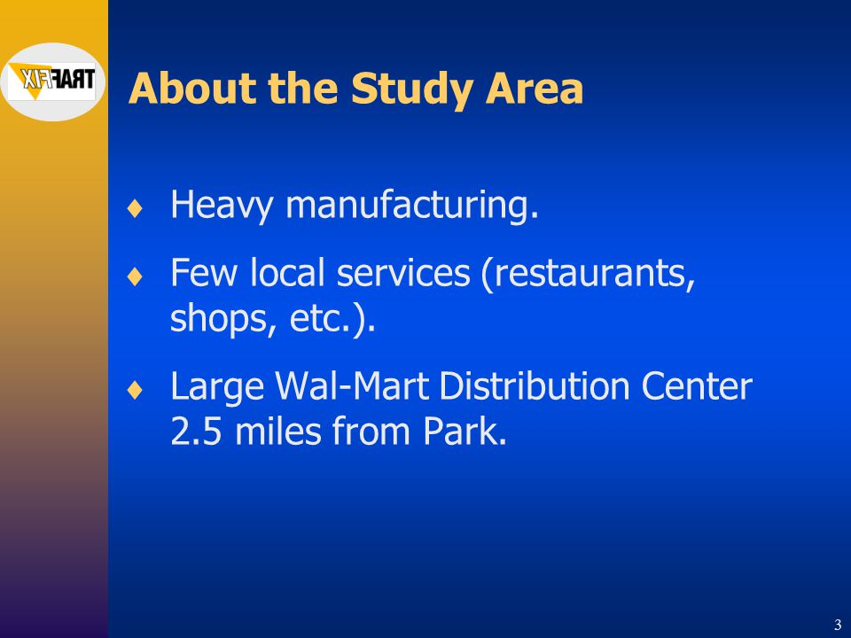 2 Study Area Oakland Industrial Park