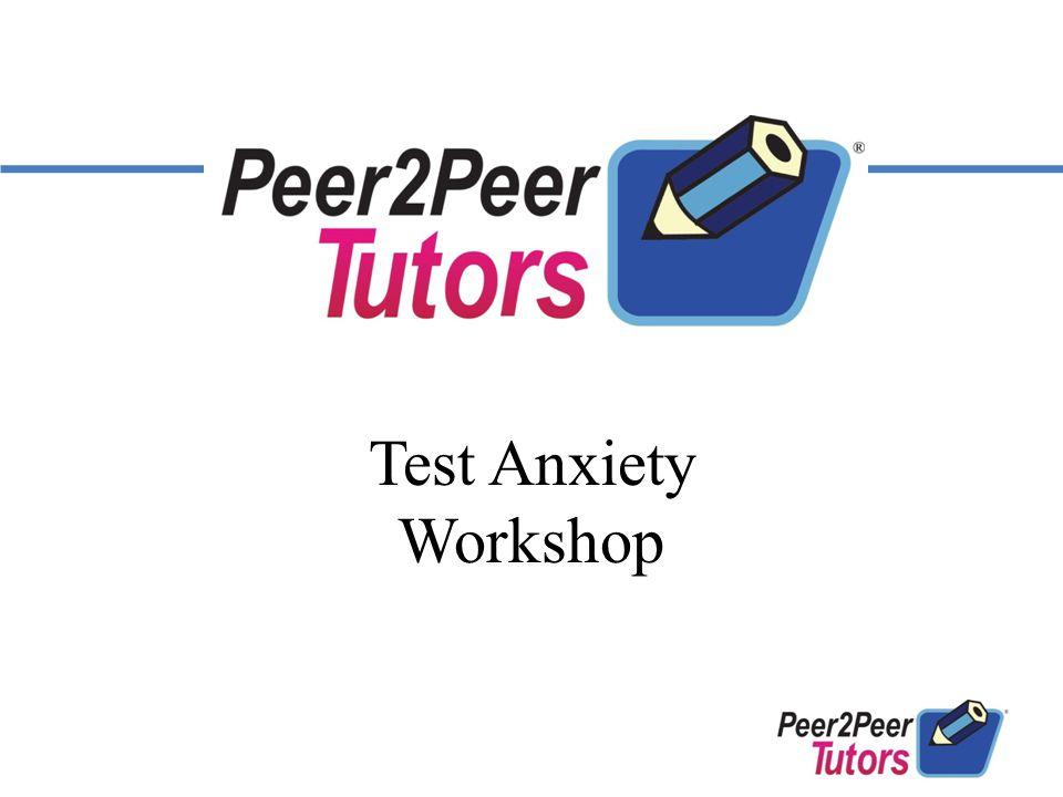 Test Anxiety Workshop