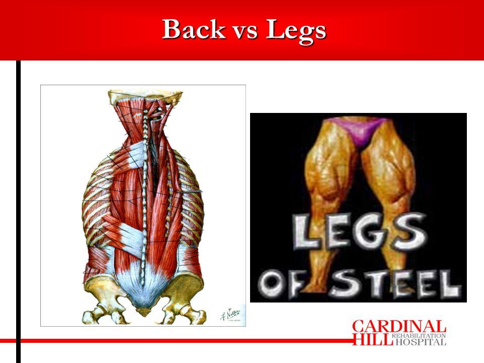 Back vs Legs