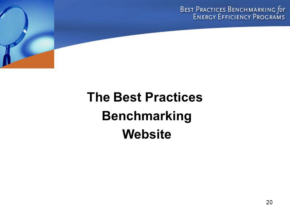 20 The Best Practices Benchmarking Website