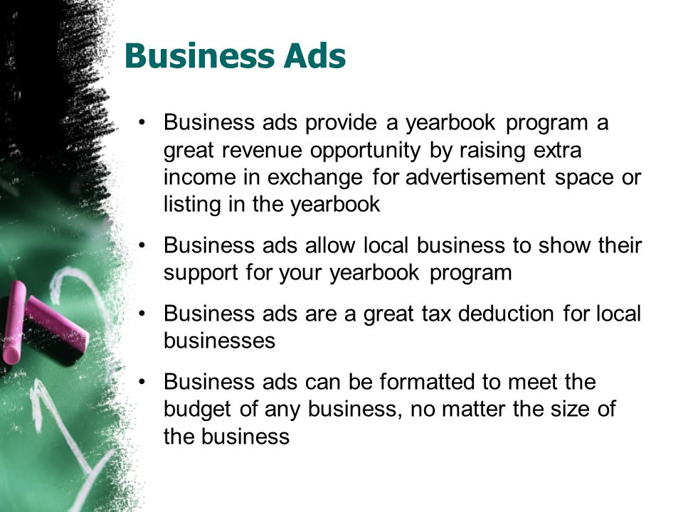 Getting Started: Audience The first step in developing a business advertising program is to identify your audience.