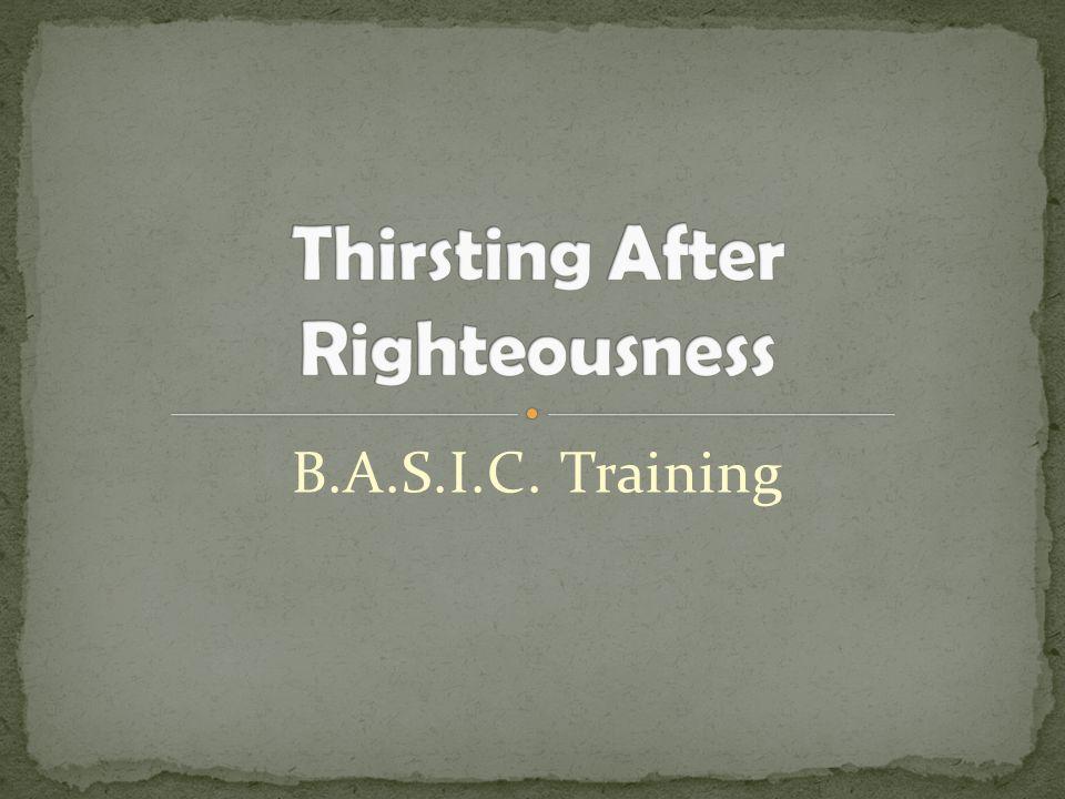B.A.S.I.C. Training